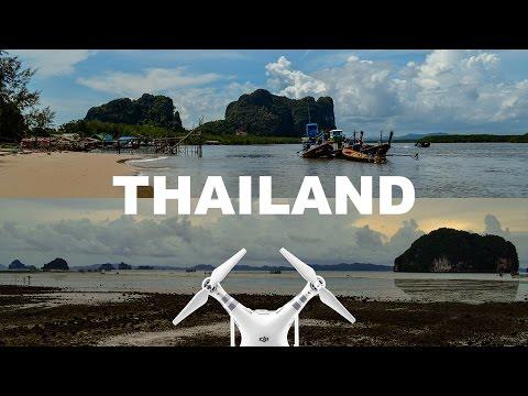 Big Taste Of Thailand From Bird's-Eye View - Aerial Videography - Phantom 3 Advanced
