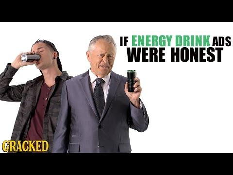 Jos energiajuomamainokset olisivat totuudenmukaisia