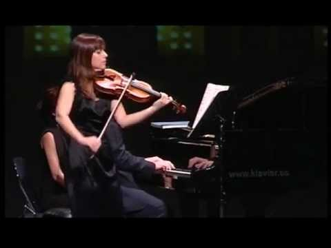 J.S. Bach Sonata en La mayor para violín y teclado BWV 1015 (1/4)