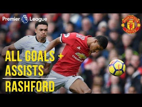 Marcus Rashford | All the Premier League Goals + Assists | Manchester United