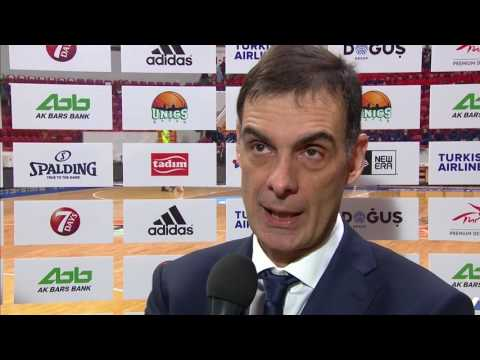 Post-game interview: Coach Bartzokas, FC Barcelona Lassa