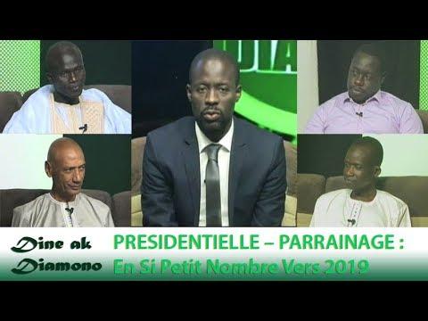 Dine ak Diamono (26 juil. 2018) - PRÉSIDENTIELLE – PARRAINAGE :  En Si Petit Nombre Vers 2019