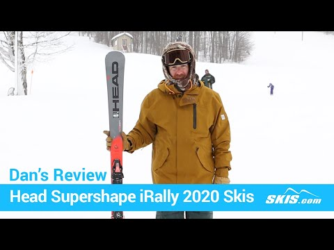 Video: Head Supershape iRally Skis 2020 5 40