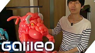 Der Luftballon-Künstler | Galileo | ProSieben