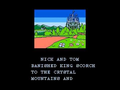 Счастливая концовка игры Snow Bros на Денди (NES)