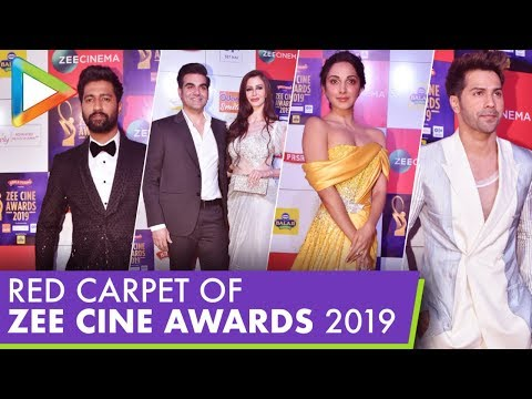 Bollywood Celebs Attend RED CARPET of Zee Cine Awards 2019 – Part 2
