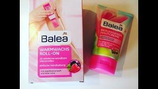 Im TEST : Balea Warmwachs Roll On + Beruhigende Hautcreme