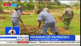 Mawaziri katika kaunti ya Nyeri waliapishwa mapema leo hii katika mahakama ya Nyeri