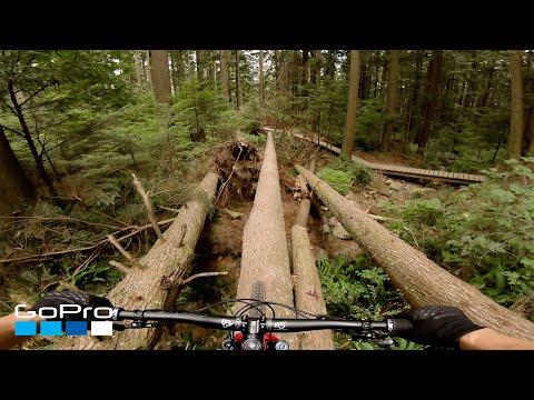 Crazy Winning Downhill Mountain Bike Ride