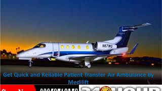 Find an ICU Emergency Air Ambulance Service in Ranchi by Medilift