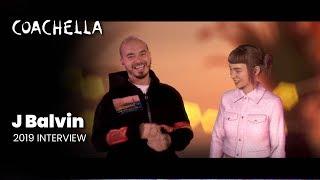 J Balvin + Miquela Interview   Coachella Curated 2019