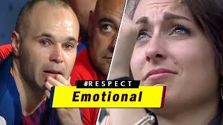 Top 15 Emotional Farewells In Football ● LEGENDS Saying Goodbye