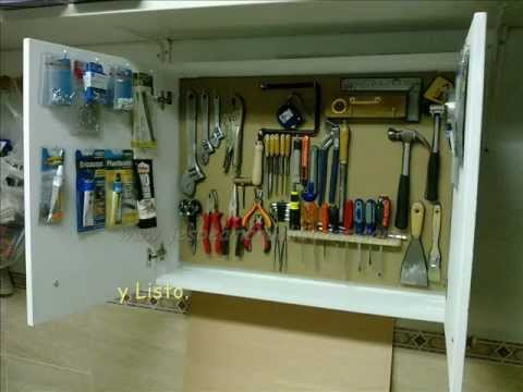 Armario para herramientas