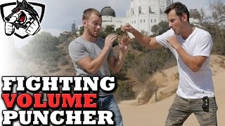 Fighting Someone Who Punches a Lot: Getting into Clinch