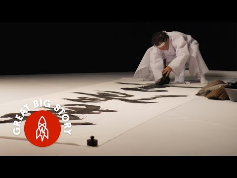 Creating Epic Korean Calligraphy in Large Scale