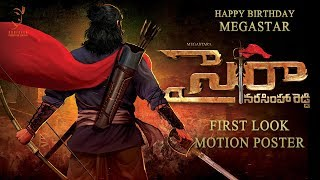 'SYE RAA NARASIMHA REDDY' First Look Motion Poster
