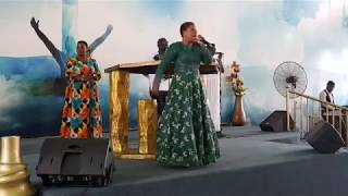 Piesie Esther Graces Faith Way Int'l Annual Church Harvest Praise