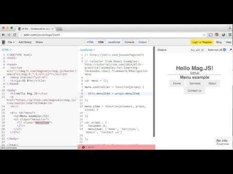 Mag js - JavaScripting