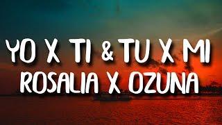 ROSALIA, Ozuna - Yo x Ti, Tu x Mi (Letra/Lyrics)  Contacto: TheReggaetonWorld@gmail.com  #Rosalia #Ozuna #YoXTi #TuxMi #Letra #Lyrics