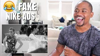 THESE FAKE NIKE ADS ARE HILARIOUS | TOP 25 MEMES | Alonzo Lerone