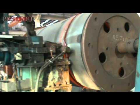Горячее вальцевание турбины - 2