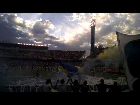 """""""Recibimiento Rosario Central vs. Tigre 2015"""" Barra: Los Guerreros • Club: Rosario Central"""
