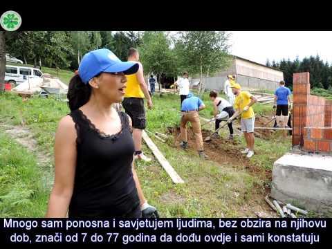 Međunarodni omladinski radni kamp - Franco Bettoli 2014
