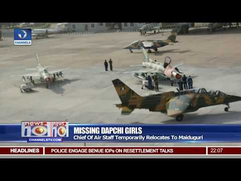 Missing Dapchi Girls: Chief Of Air Staff Temporarily Relocates To Maiduguri