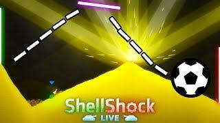 TRICK SHOT SOCCER CHALLENGE! - Shellshock Live Showdown