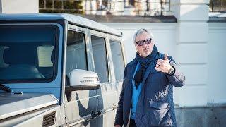 Валерий Меладзе показал свой 540-сильный Mercedes G63 AMG