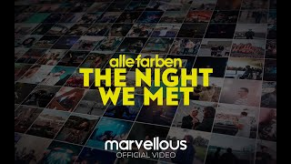 Alle Farben   The Night We Met