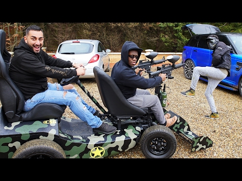 Comedy Shorts Gamer & KSI Gifted Epic Paintball Buggy