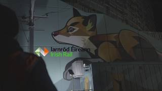 Irish Rail Mural Promotion