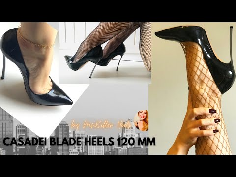ALL YOU NEED TO KNOW ABOUT CASADEI BLADE HEELS 120 MMI HEELS REVIEW|TRY ON WALKING| MS. KILLER HEELS