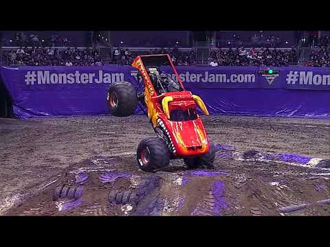 Monster Jam 2021 ロサンゼルス CAのハイライト動画