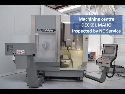 Machining centre Deckel Maho inspected by NC Service