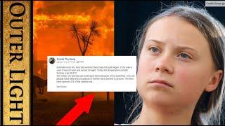 Something strange about Greta Thunberg's Facebook account