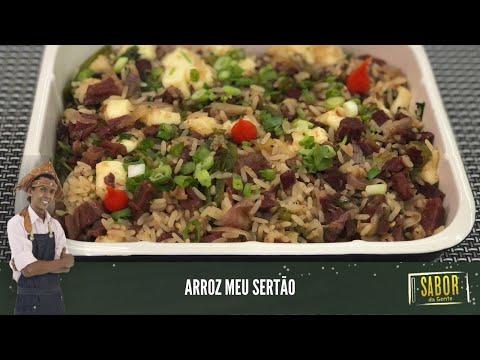 [Sabor da Gente exibido em 03/03/2021] Arroz Meu Sertão: receita deliciosa do chef Rivandro França