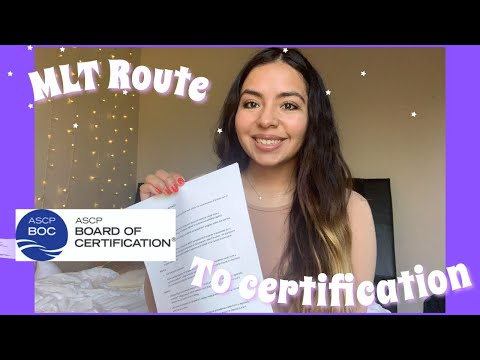 ROUTES TO MLT CERTIFICATION: ASCP BOC EXAM - YouTube