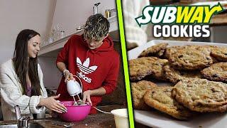 American Subway Cookies SELBER BACKEN 😱👨🍳 Mit FREUNDIN