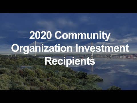 2020 Community Organization Investment Recipients