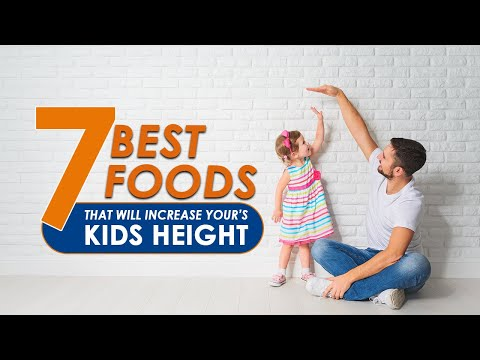 7 Foods That Will Increase Your Kid's Height | Healthfolks