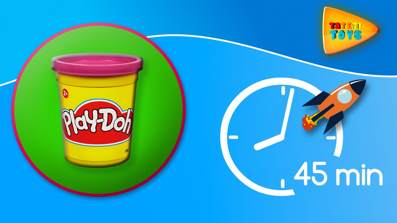 Peppa Pig y Frozen se divierten con Play Doh | 45 min | Episodios completos