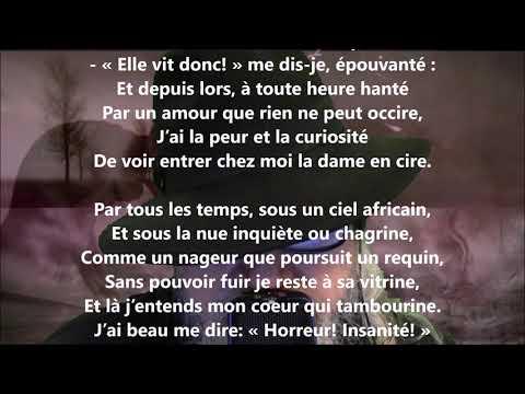 La dame en cire - Maurice Rollinat lu par Yvon Jean