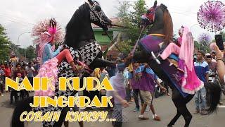 Naik Kuda Jingkrak || Ramai Parah!!Arak Arakan Kuda Rebug || 1 Maret 2020