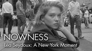"""Léa Seydoux in """"A New York Moment"""" by Glen Luchford"""