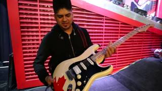 Rig tour with Ian for Seymour Duncan​