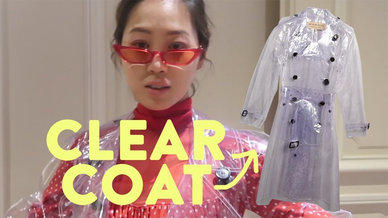 I Wore Plastic To A Fashion Show | Aimee Song