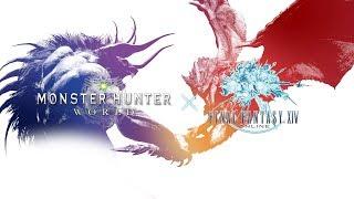 [Monster Hunter: World] - Collaboration FF XIV - Behemoth update Trailer - PS4 XO