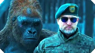WAR FOR THE PLANET OF THE APES - Official TRAILER # 2 Teaser (2017)
